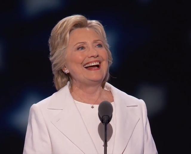 Hillary Clinton makes history in Philadelphia
