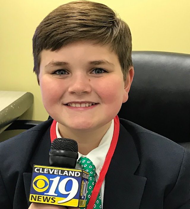 Nolan at WOIO Channel 19 in Cleveland, Ohio