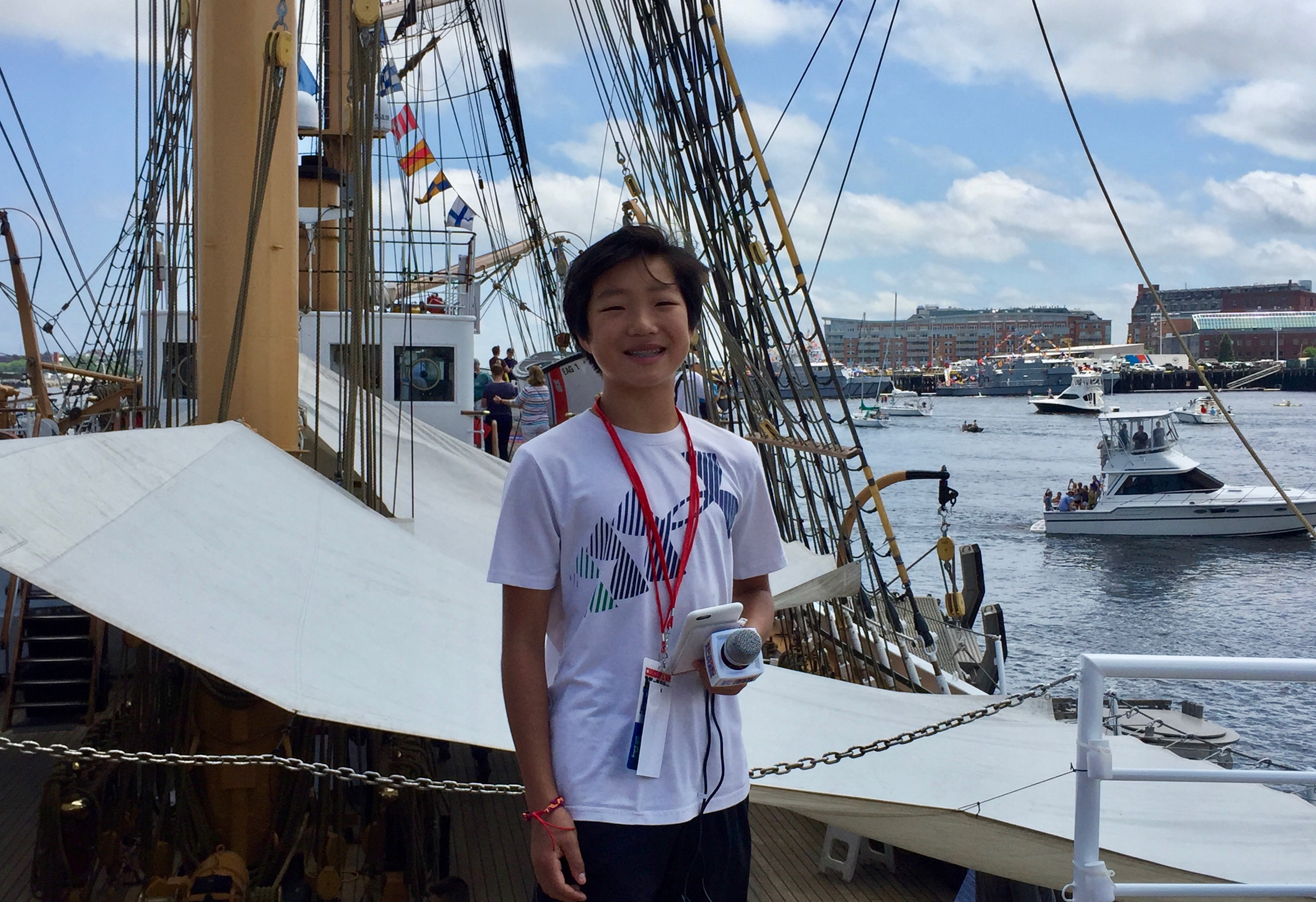 Stone at Sail Boston 2017