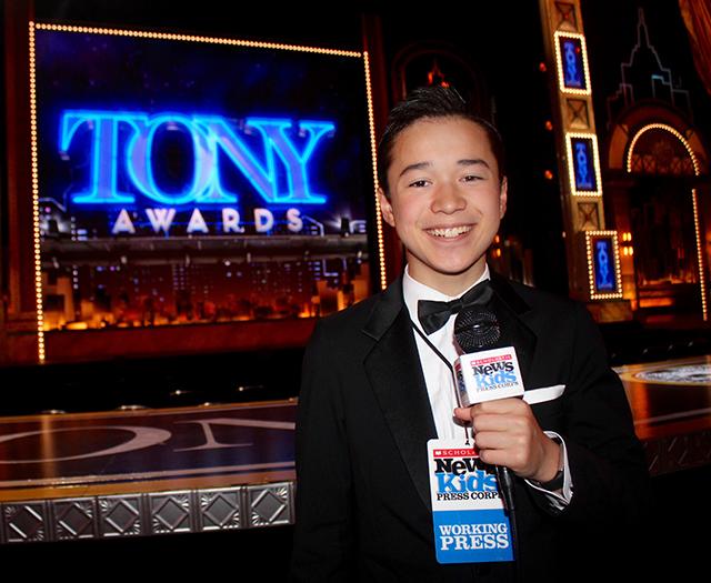Max at the 72nd Tony Awards at Radio City Hall in New York City