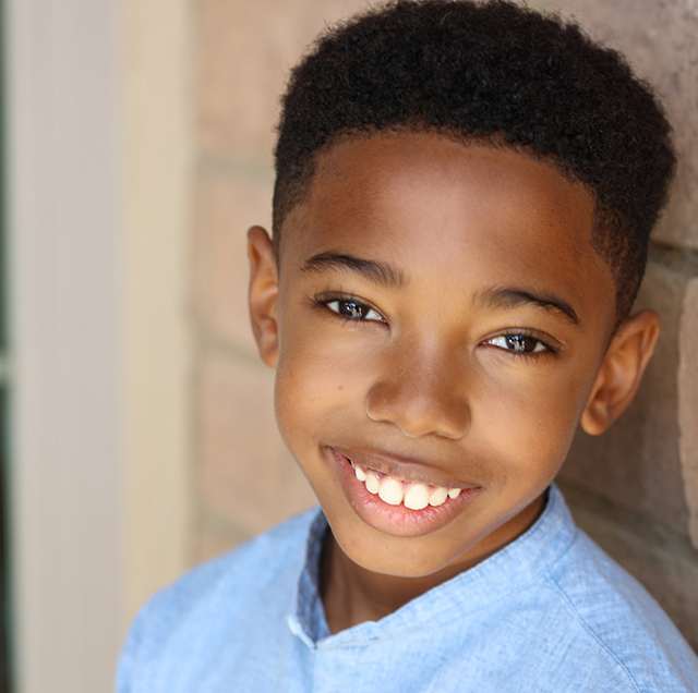 Seth Carr plays young killmonger