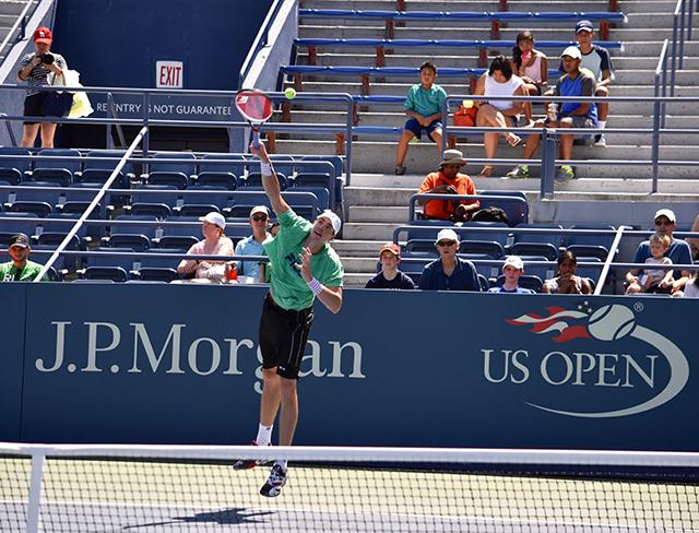 John Isner at the US Open