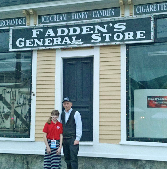 Fadden's General Store has been continuously operated by the Fadden Family, in Woodstock, NH, since 1896.