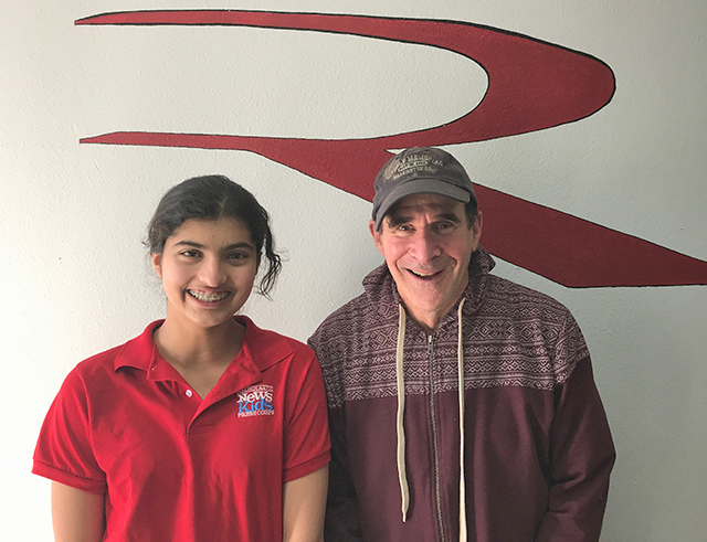 Gary Riekes, Founder of The Riekes Center, with Manat Kaur.