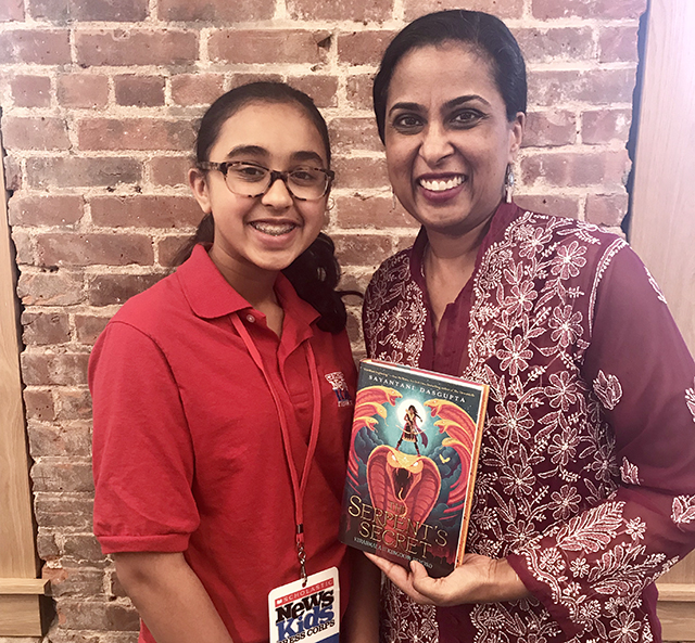 Sunaya with her mother, Sayantani DasGupta