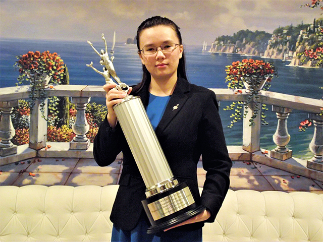 Victoria Bevard, winner of the 2016 National Congressional Debate Championships