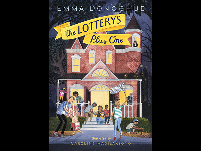 The cover of The Lotterys Plus One