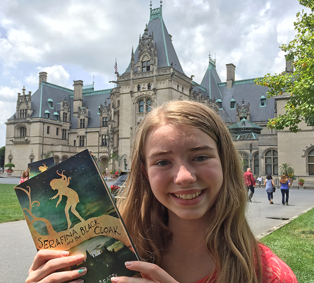 Our Kid Reporter in North Carolina talks with a best-selling author.