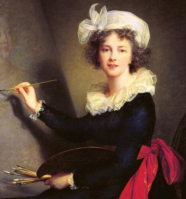 Elisabeth Louise Vigée Le Brun (French, Paris 1755–1842 Paris) Self-portrait 1790 Oil on canvas, 39 3/8 x 31 7/8 in. (100 x 81 cm) Galleria degli Uffizi, Corridoio Vasariano, Florence (1905)