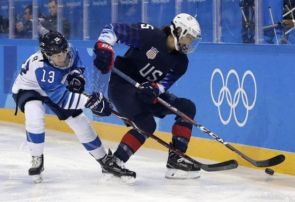 USA down Finland to head to gold medal game
