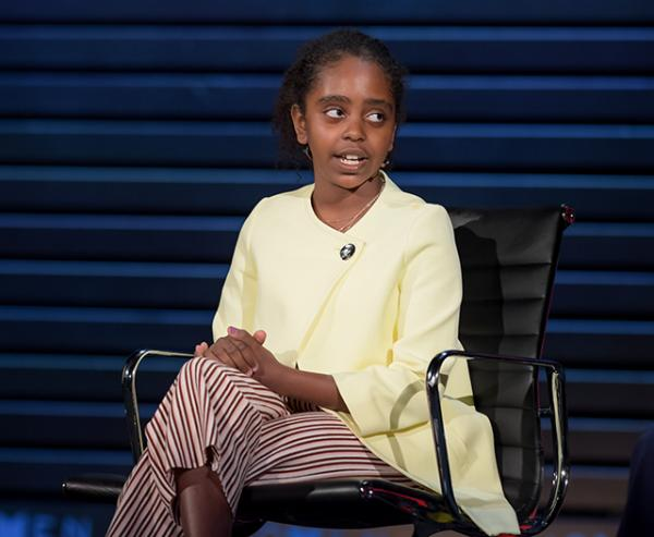 11 Year-Old Student Activist, George Mason Elementary School