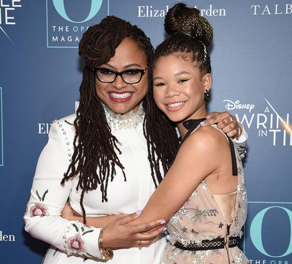 """Ava DuVernay and Storm Reid attend as O, The Oprah Magazine hosts special NYC screening of """"A Wrinkle In Time"""" at Walter Reade Theater"""