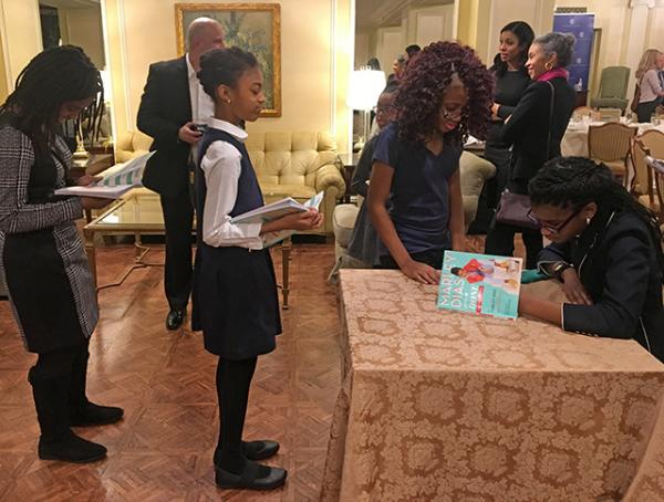 Union League luncheon signing