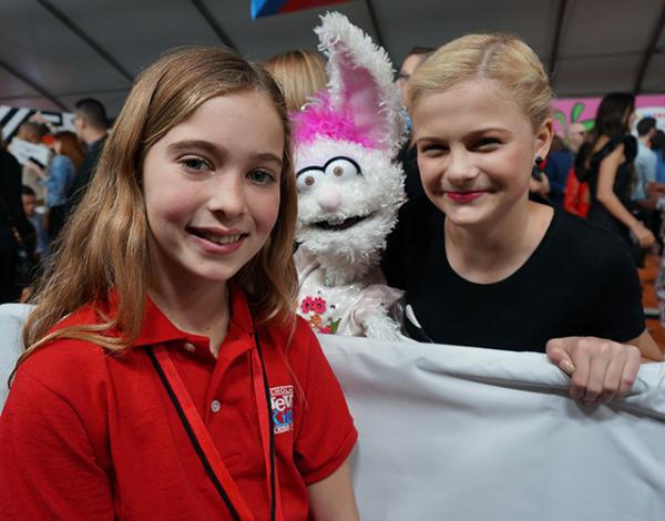 Alula with Darci Lynne Farmer, ventriloquist