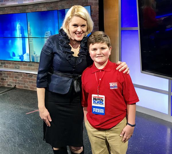 Denise Zarrella, television news reporter and weekend anchor with Nolan