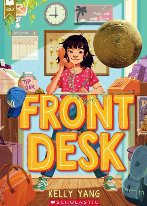 At the Front Desk   Kid Reporters' Notebook   Scholastic Inc.