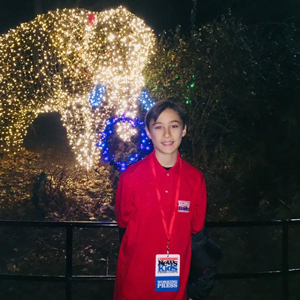 Daniel at the National Zoological Park