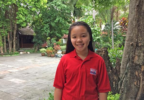 Kid Reporter Natcharee Chaiwongtitikul