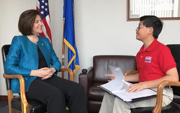 Alexander interviews Senator Catherine Cortez Masto.
