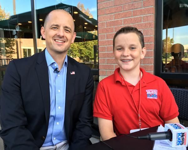 Ryan with Independent Presidential Candidate Evan McMullin