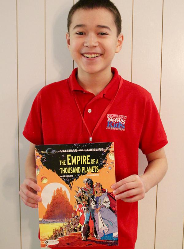 Max with The Empire of a Thousand Planets, which is part of the Valerian And Laureline graphic novel series
