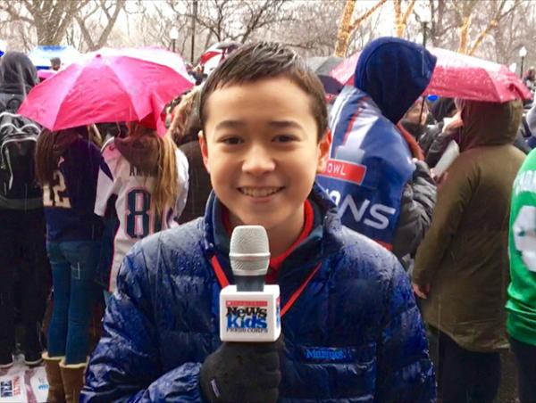 Max covers the New England Patriots Super Bowl victory parade in Boston, Massachusetts.