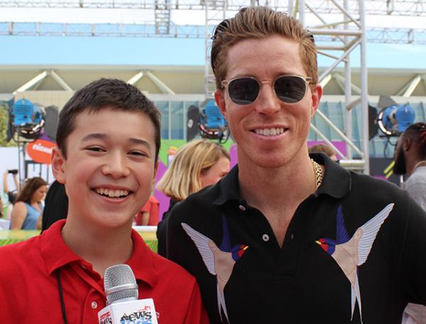 ax and professional snowboarder Shaun White