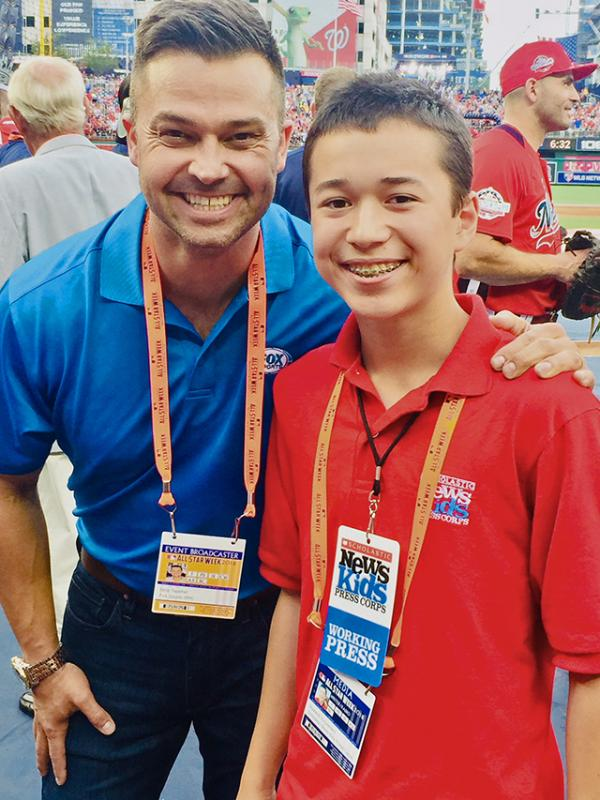 ax catches up with former player and journalist Nick Swisher about the Home Run Derby (the next day at the All-Star Game) at Nationals Park in Washington DC