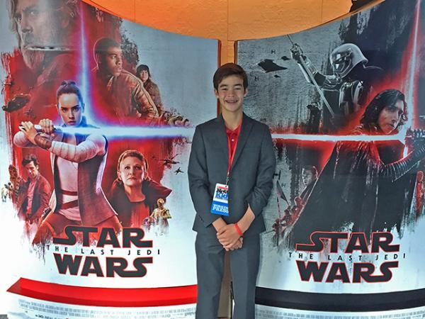 The Last Jedi press event
