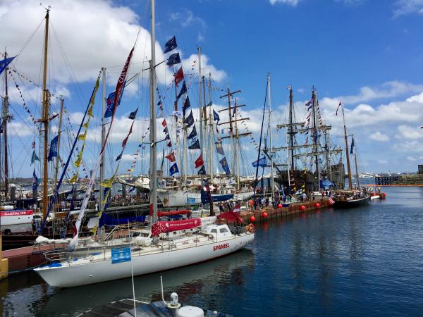 Ships at Stone at Sail Boston 2017