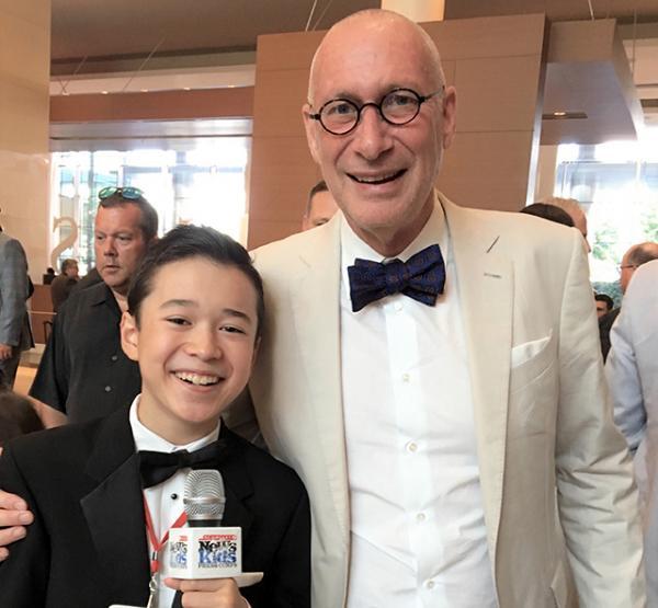 Max and John Skipper, President of ESPN