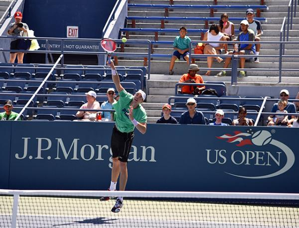 John Isner at the US Open