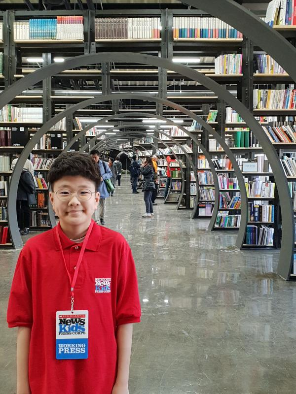 A New Home for Old Books | Kid Reporters' Notebook | Scholastic Inc.