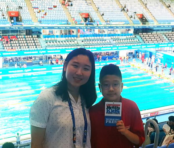 Aquatic Championships Held in Korea | Kid Reporters' Notebook | Scholastic Inc.
