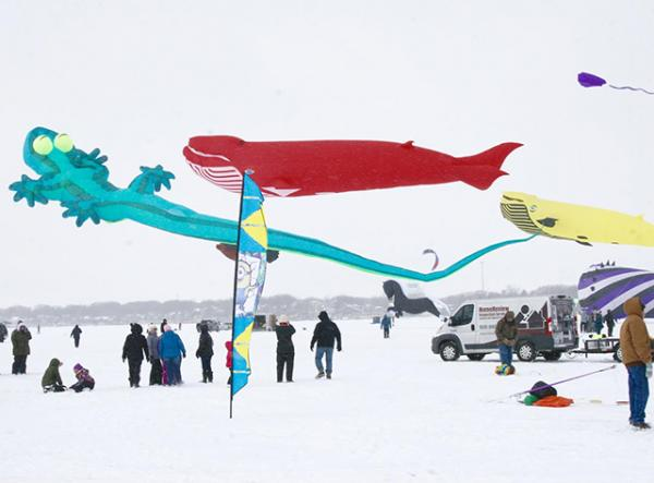 Large kites