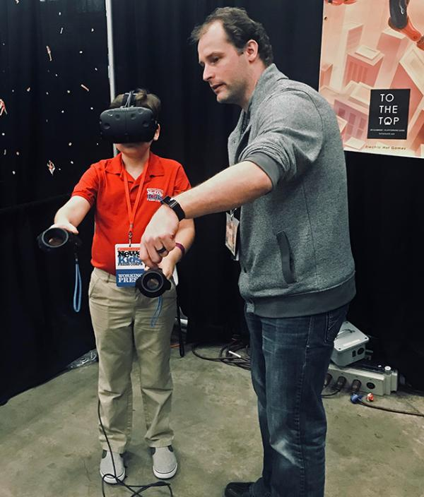 Learning VR with To The Top Gaming