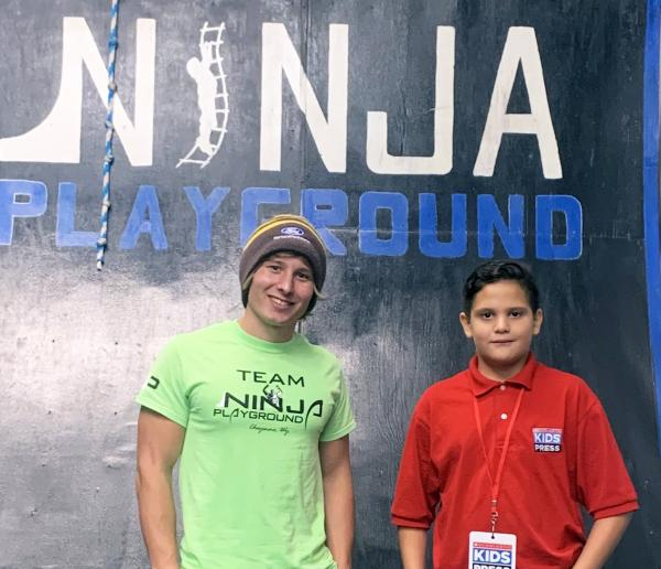 Building Strength at a Ninja Playground | Kid Reporters' Notebook | Scholastic Inc.