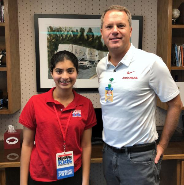 Manat Kaur with Walmart CEO