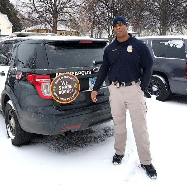 Officer Troy Dillard of the Minneapolis Police Department