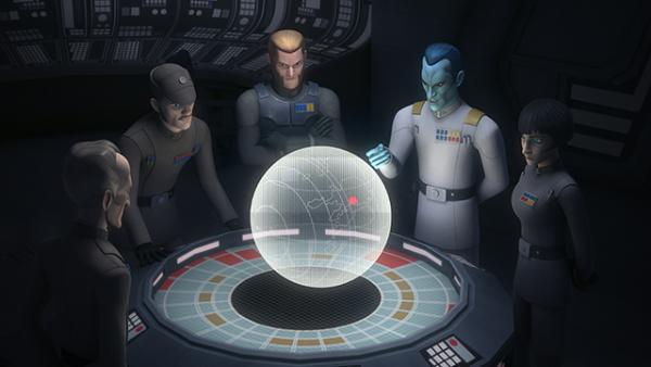 A scene from Star Wars Rebels, photo by Lucasfilm