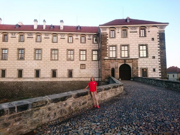 Rade at Nelahozeves Castle outside of