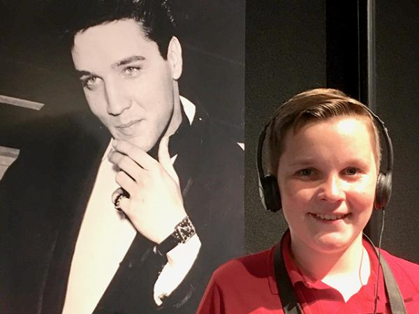 Ryan and Elvis