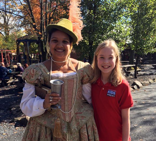 A Visit to a Renaissance Festival | Kid Reporters' Notebook | Scholastic Inc.