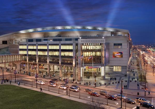 Quicken Loans Arena, the site of the Republican National Convention (c) Courtesy of Destination Cleveland