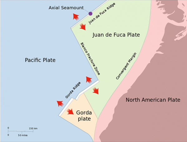 Juan de Fuca plate