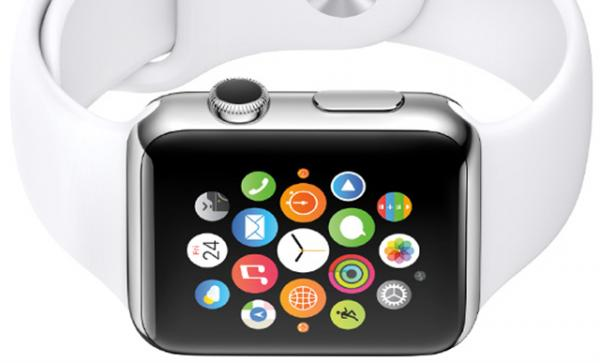 The Apple Watch, an iPhone-compatible smartwatch, will go on sale next month.