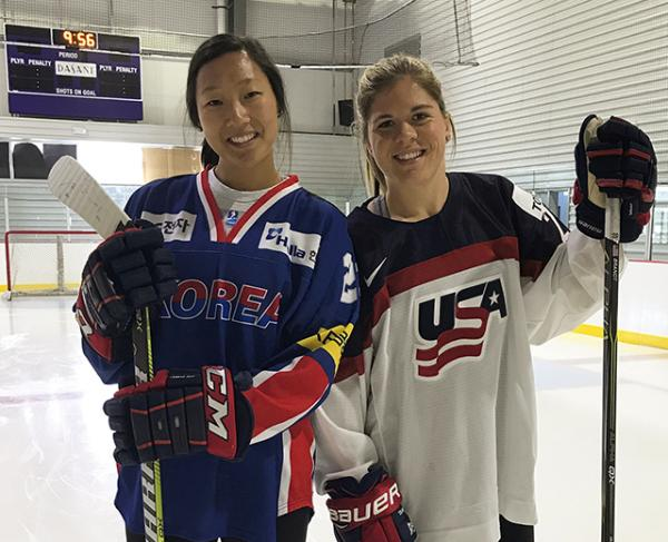 Marissa and Hannah Brandt