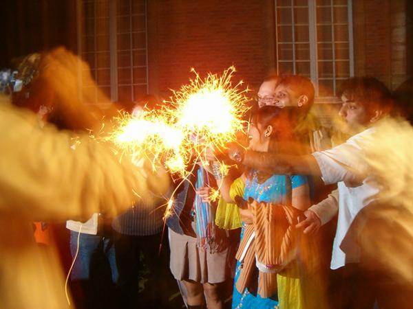 Diwali celebration (Photo by Jean-Etienne Minh-Duy Poirrier)