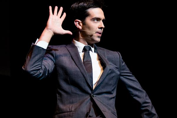 Magician Michael Carbonaro. Photo by by Matt Christine Photography