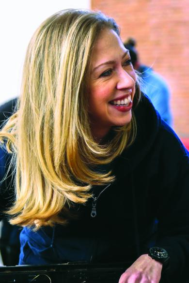 Chelsea Clinton, who is the daughter of former President Bill Clinton and former Secretary of State Hillary Rodham Clinton, is the author of several books for children. Photo courtesy of Philomel Books